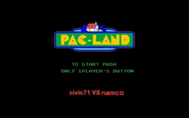 Pac-Land Demo