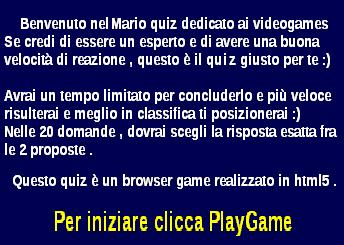 Quiz Mario
